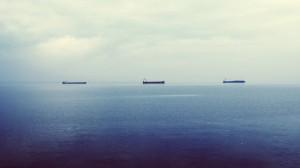Schiffe und Meer