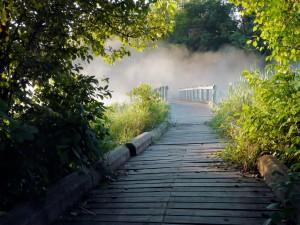Weg Brücke