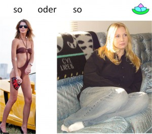 dick und dünn