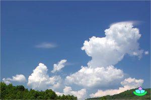 Ferien Wolken