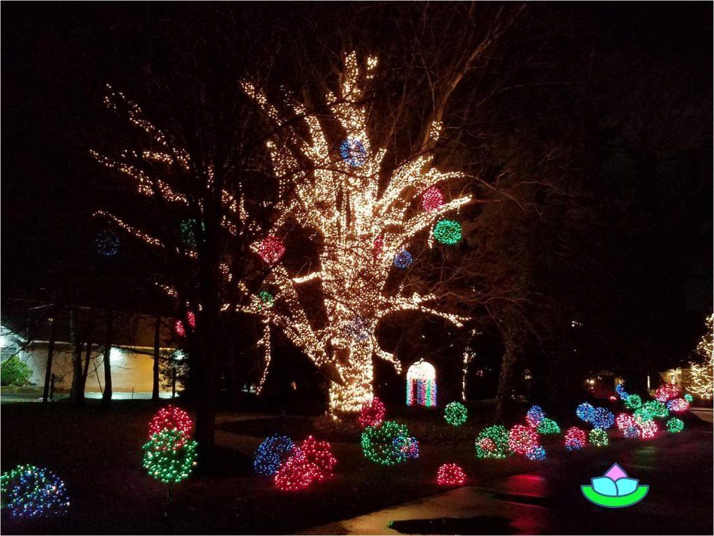 Amerikanische Weihnachtsbeleuchtung.Amerikanische Weihnachtsbeleuchtung Es Schreibt Für Sie Birgitt